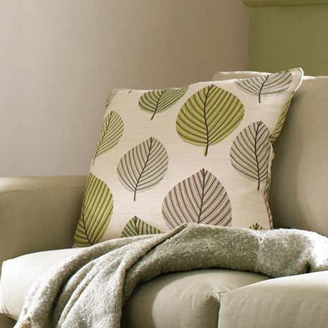Regan Green Cushion