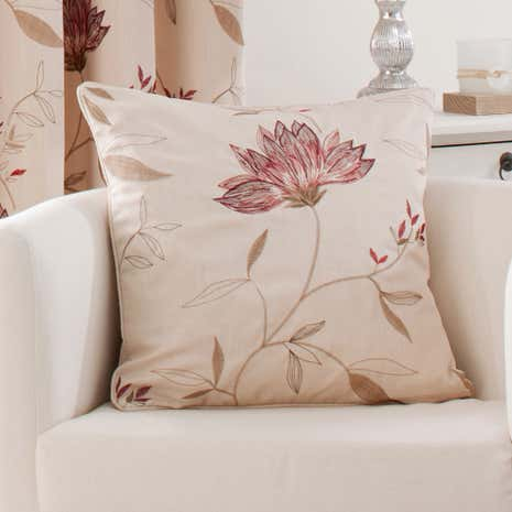 Red Amelia Cushion