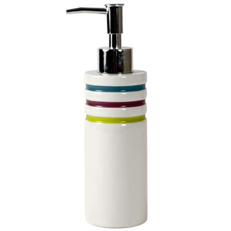 Haven Brights Striped Hand Lotion Dispenser