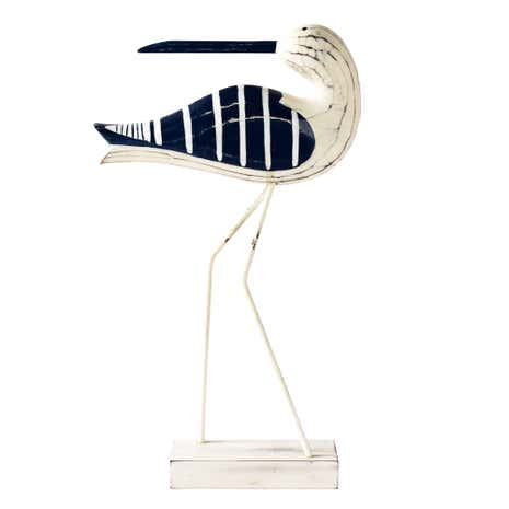 Nautical Wooden Standing Bird
