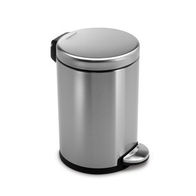 simplehuman Mini Fingerprint Proof 3 Litre Pedal Bin