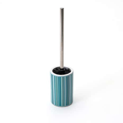 Teal Newhaven Toilet Brush Holder