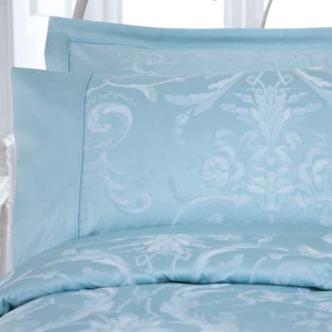 Dorma Duck Egg Regency Cuffed Pillowcase