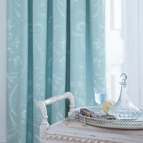Dorma Regency Duck-Egg Lined Pencil Pleat Curtains