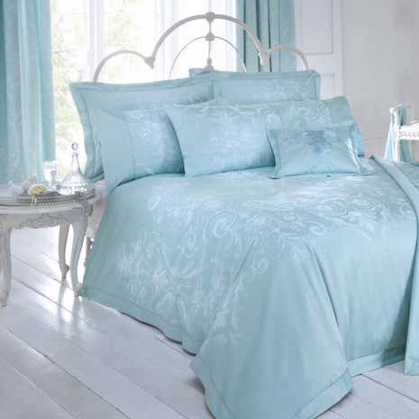Dorma Duck Egg Regency Duvet Cover