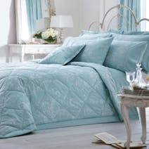 Dorma Duck Egg Regency Quilted Throw