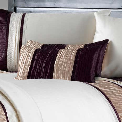 Manhattan Plum Boudoir Cushion