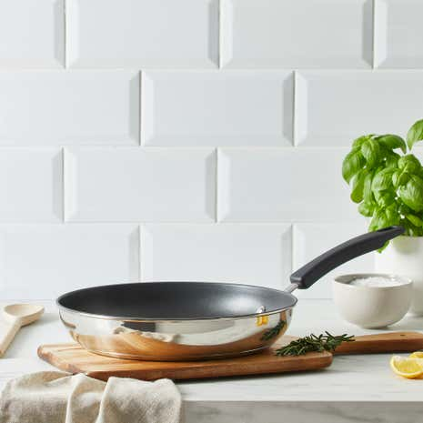 Stainless Steel Frying Pan