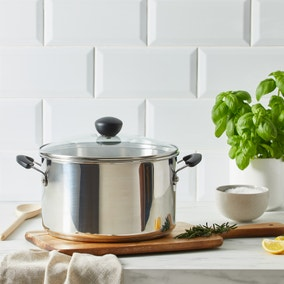 Stainless Steel 6.2 Litre Stock Pot