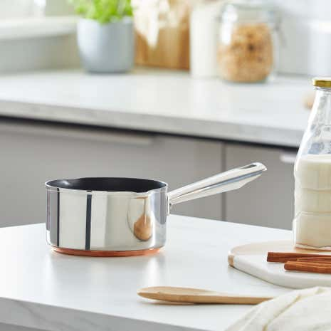 Infinity Copper Milk Pan