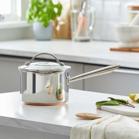 Infinity Copper Base Saucepan