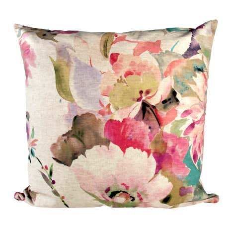 Pink Bloom Cushion