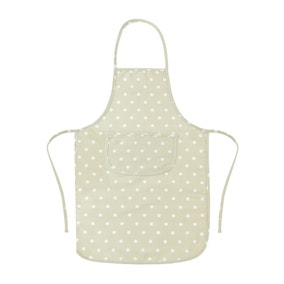 Sage Dotty Padded Apron