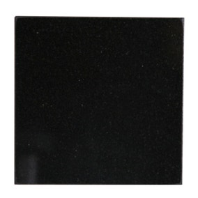 Black Granite Set of 4 Coasters