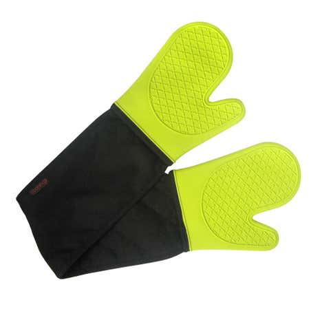 Lime Spectrum Silicone Double Oven Glove