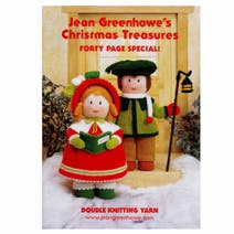 Patons Jean Greenhowe's Christmas Treasures Knitting Book