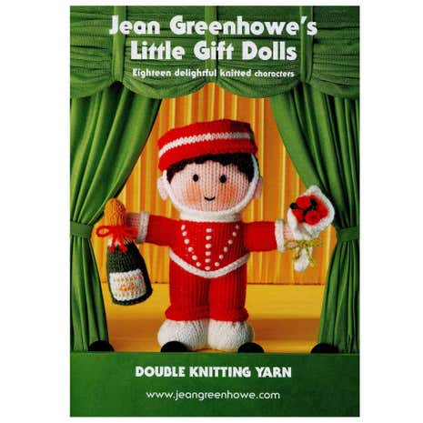 Patons Jean Greenhowe's Little Gift Dolls Book
