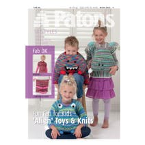 Patons Alien Toys and Knits Children's Knitting Book