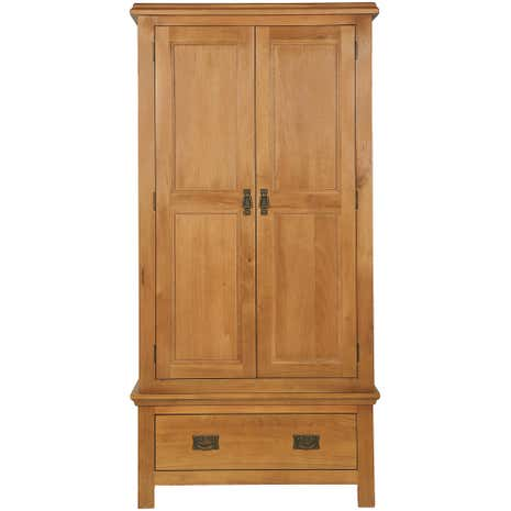 Dorchester Oak Gents Wardrobe