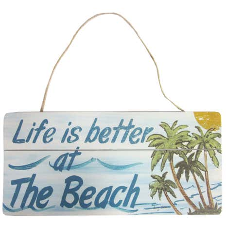Beach Hanging Plaque