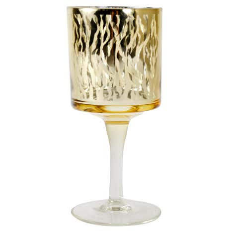 Sparkle Animal Print Tea Light Holder