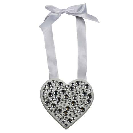 Sparkle Hanging Diamante Heart