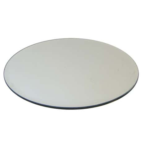 Home Fragrance Round Mirror Candle Plate