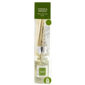 Home Fragrance Cotton and Water Lily 45ml Reed Diffuser