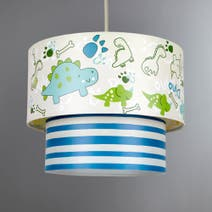 Kids Dino 2 Tier Pendant Shade