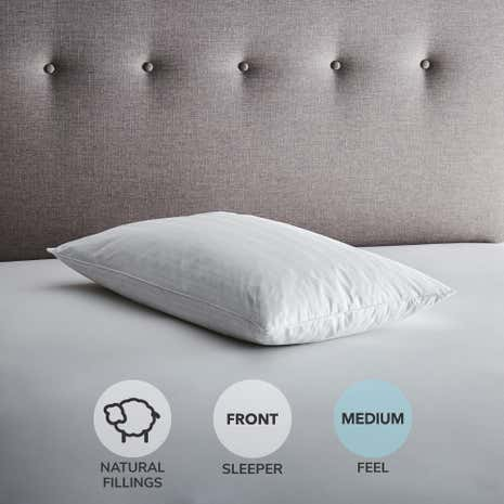 Hotel Goose Feather and Down Soft-Support Pillow
