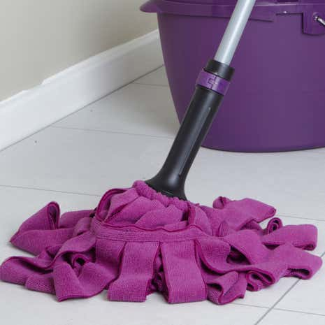 Click 'n' Clean Traditional Microfibre Mop Head