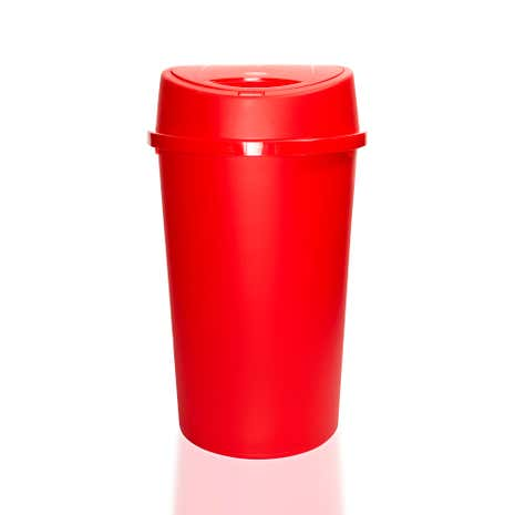 Red Spectrum 45 Litre Touch Bin