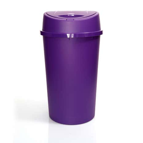 Spectrum Purple 45 Litre Touch Bin
