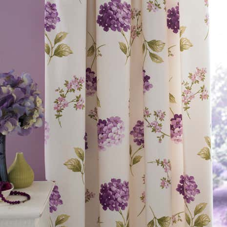 Heather Erin Thermal Pencil Pleat Curtains