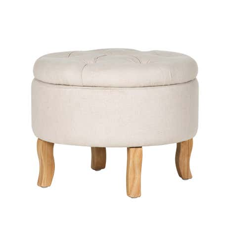 Cream Antoinette Footstool