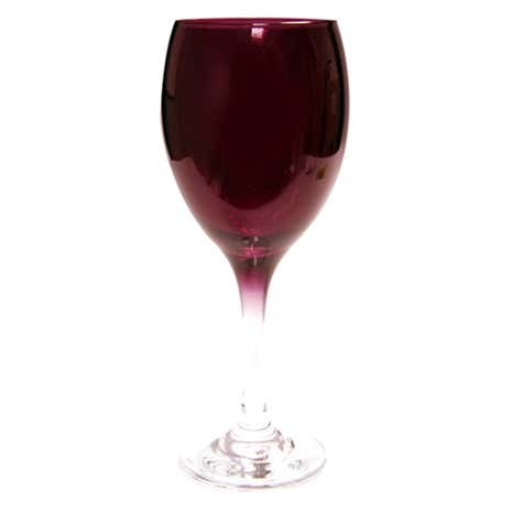 Red Spectrum Tall Wine Glass