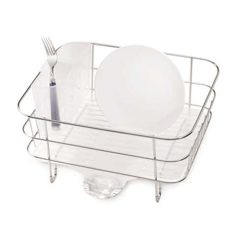 simplehuman Stainless Steel Compact Dishrack