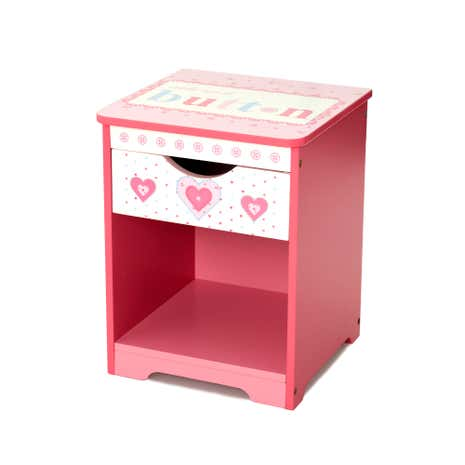 Kids Cute as a Button Bedside Table