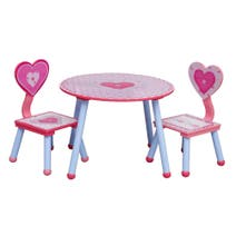 Cute as a Button Play Table and Chairs
