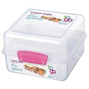 Sistema Lunch Cube To Go Assorted Colours