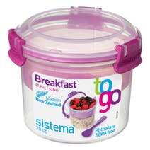Sistema Breakfast To Go Assorted Colours