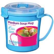 Sistema Soup To Go Assorted Colours