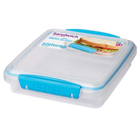 Sistema Sandwich Box To Go Assorted Colours