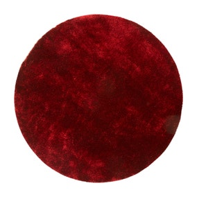 Wine Indulgence Circle Shaggy Rug
