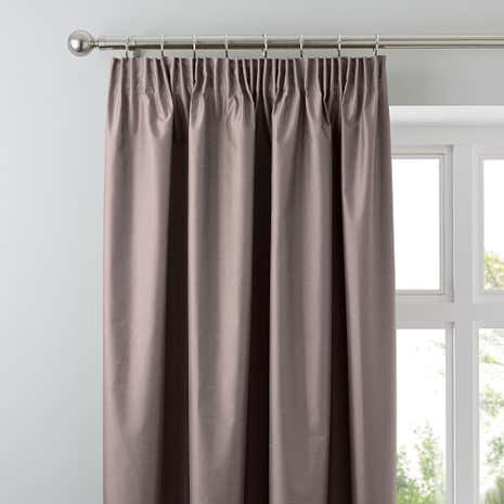 Nova Gold Blackout Pencil Pleat Curtains