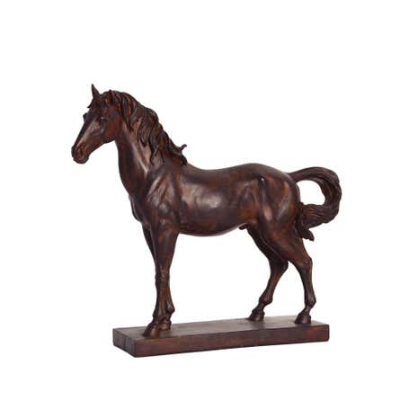 Colonial Horse Figurine