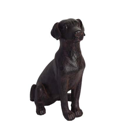 Colonial Cast Iron Finish Dog