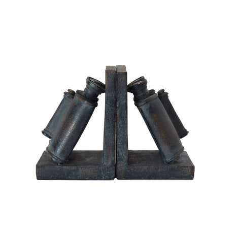 Colonial Binocular Bookends Set