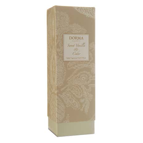 Dorma Sweet Vanilla and Cedar 100ml Reed Diffuser