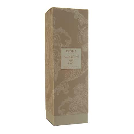 Dorma Sweet Vanilla and Cedar 200ml Reed Diffuser